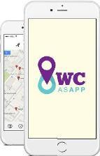 Gratis app toont dichtstbijzijnde toilet