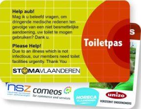 Toiletpas aanvragen