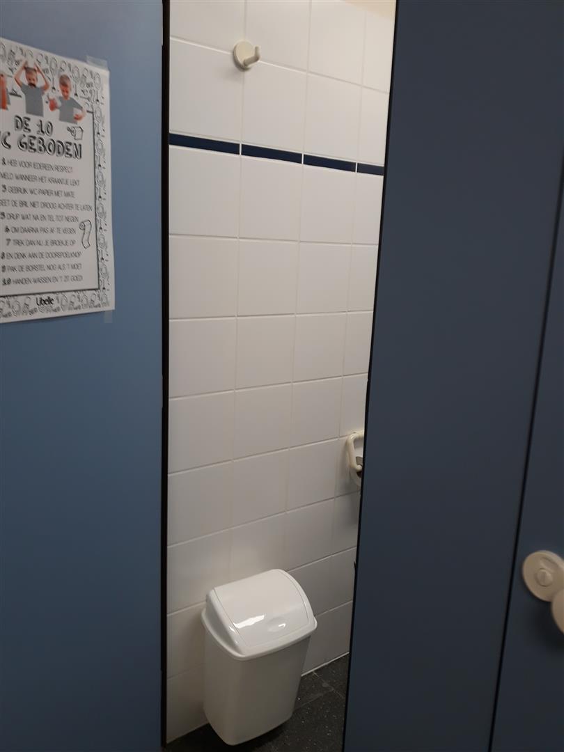 Haaltert toilet